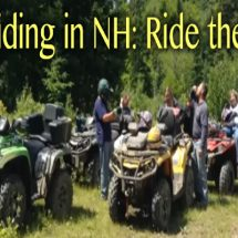 ATV Riding in NH header