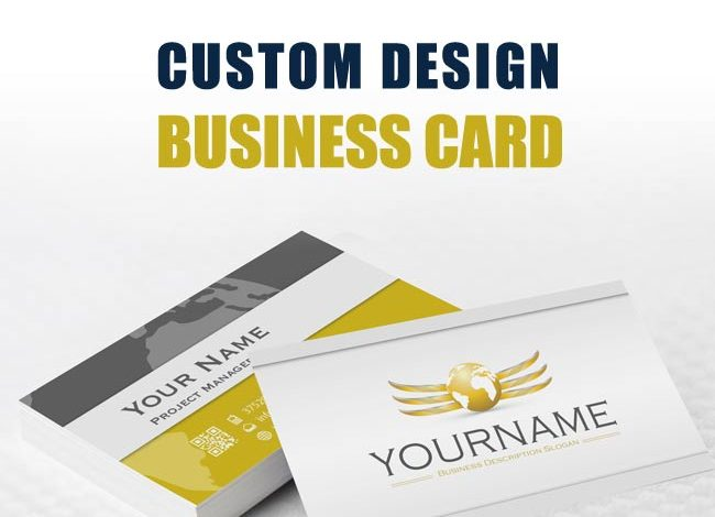 4 Tips To Get You Started In Custom Business Card Design